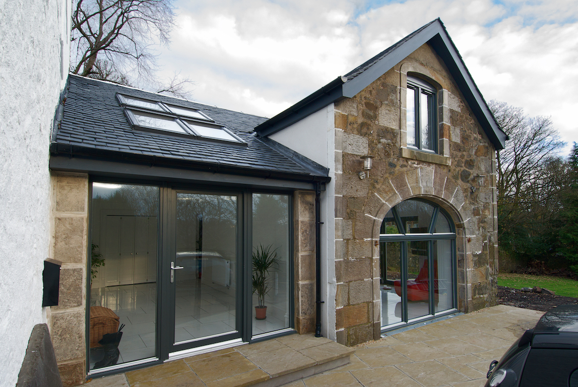 Barn Conversion & House Extension, Kilbarchan, Renfrewshire