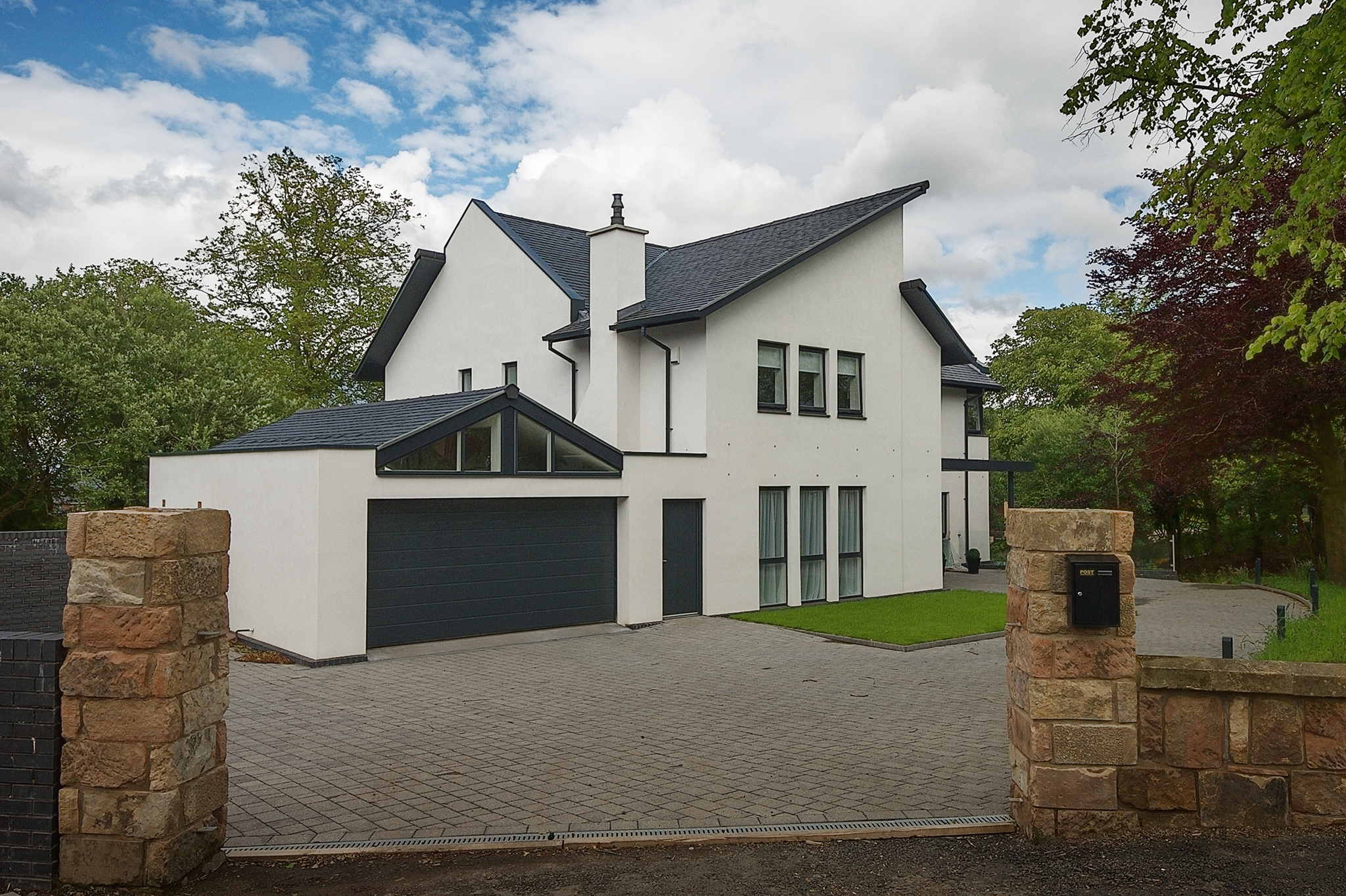new house burnside, new glasgow, modern house glasgow, architect in glasgow, glasgow architect, architect in paisley, paisley architect, planning permission glasgow, planning permission paisley